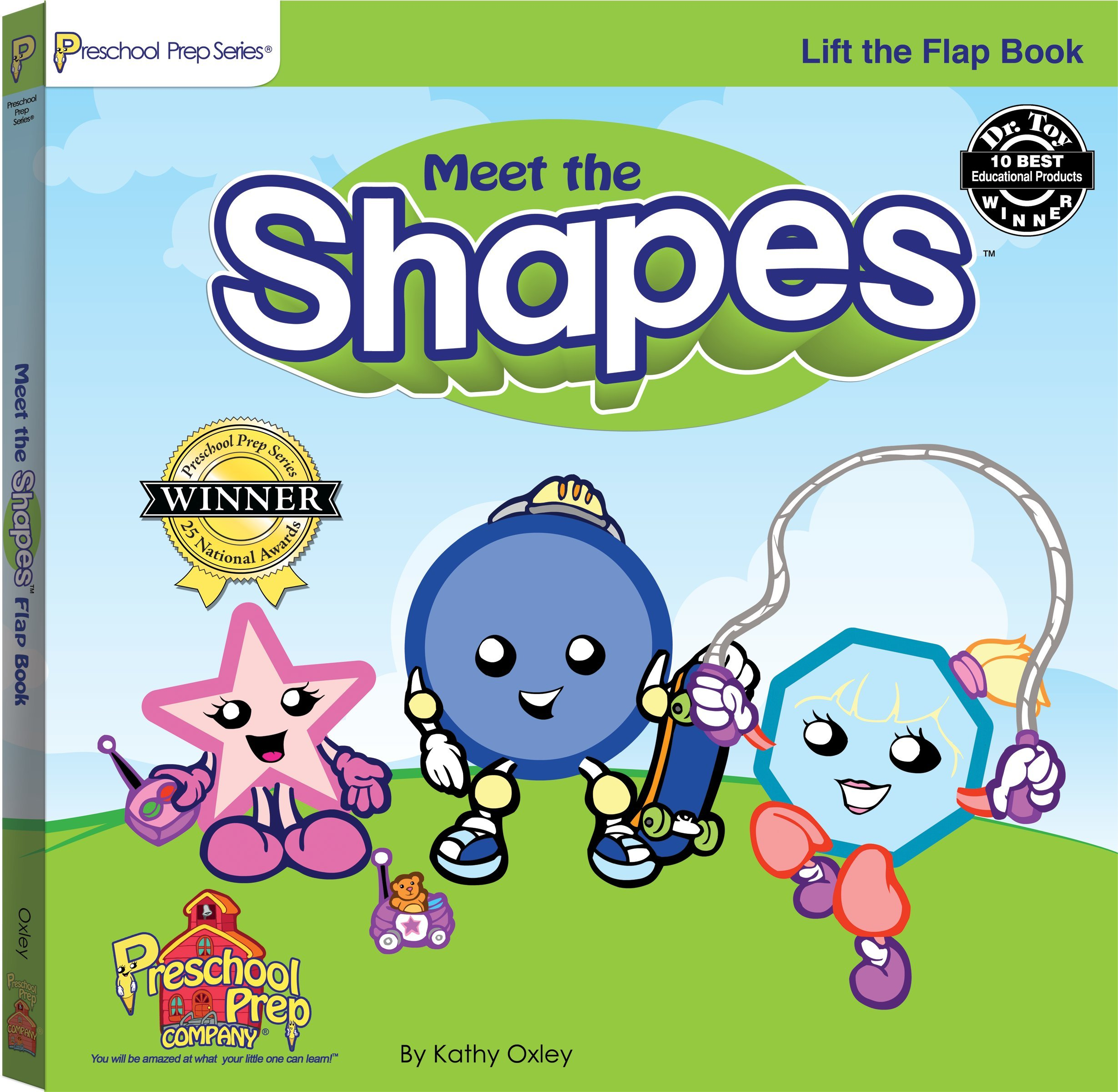 Meet the Shapes Lift the Flap Book: Kathy Oxley, Sherwin Rosario ...