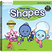 Meet the Shapes Lift the Flap Book