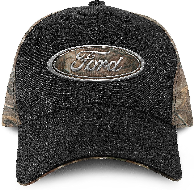 Buck Wear Ford Chrome Logo Hat