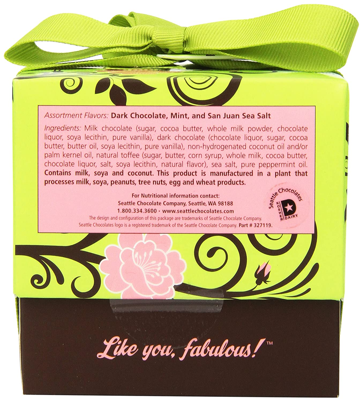 Amazon.com : Seattle Chocolates Gift Box, Happy Birthday, 6 Ounce ...