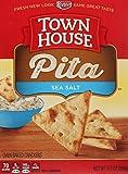 Town House Pita Crackers, Sea Salt, 9.5 Ounce