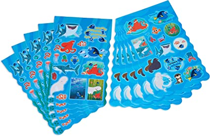 Finding Dory Sticker Sheets 4ct