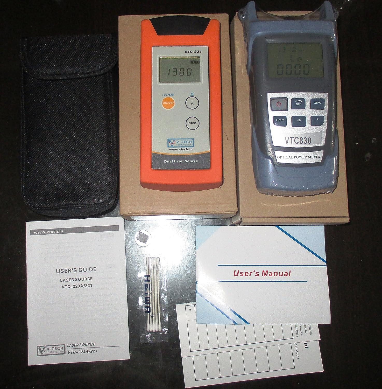 c7afca33aa5 VTC Power Meter and Fiber Optical Laser source (Multimode + Single mode