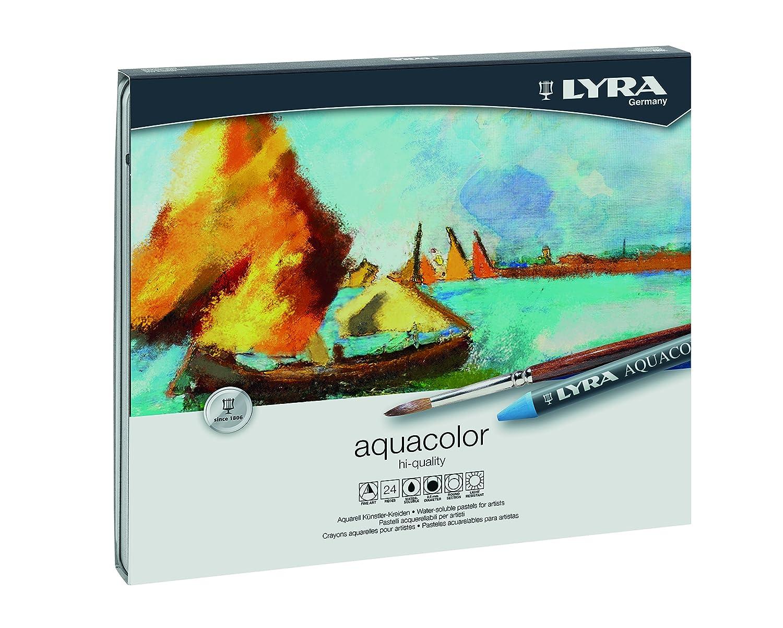 Lyra L5611240 - Scatola Metallo 24 Aquacolor