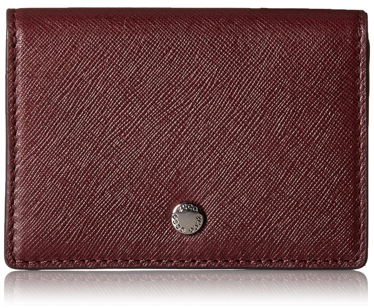 Iola Card Case Credit Card Holder, Wine, One Size