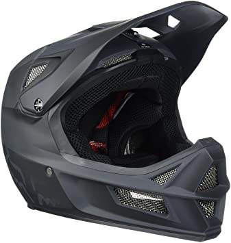 Fox Helm Rampage Pro Carbon - Casco de Ciclismo Multiuso, Color Negro, Talla 57