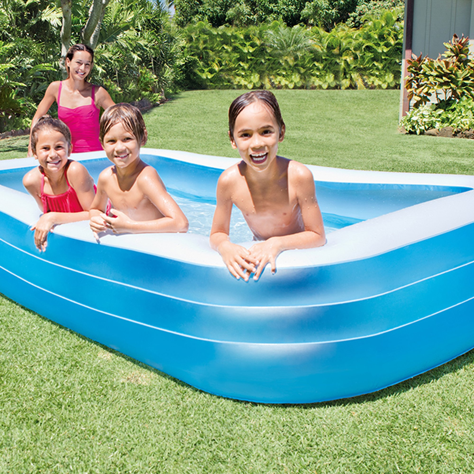 Intex Swim Center Family 72 x 120 Inch Swimming Pool and Quick Fill Air Pump by Intex (Image #4)