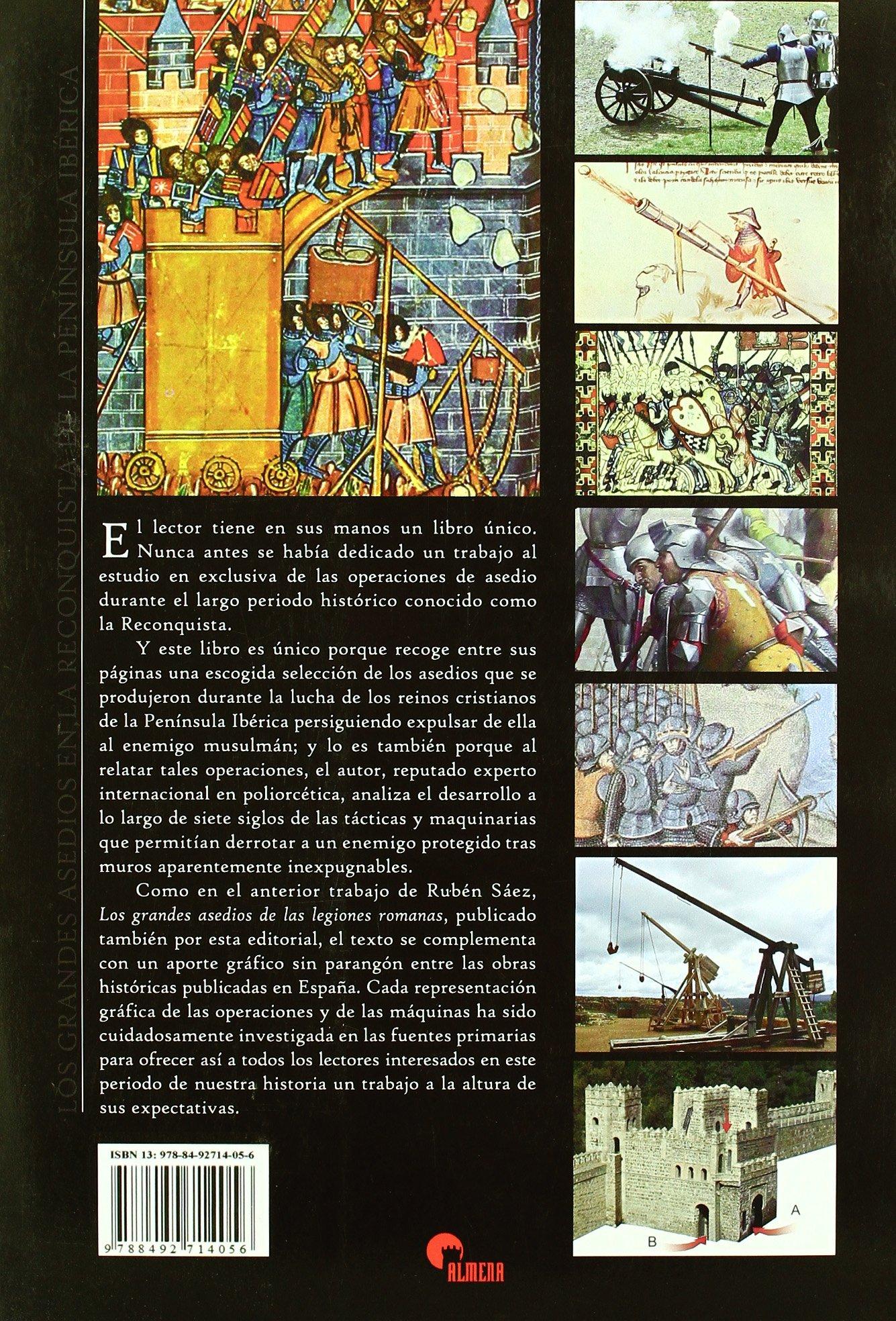 Los grandes asedios en la Reconquista de la Península Ibérica: Amazon.es: Ruben Abad, Ruben Abad: Libros