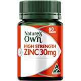 Nature's Own High Strength Zinc 30mg - 60 Tablets