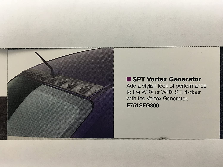 Subaru OEM SPT Vortex Generator Impreza 2015 2016 WRX & STI E751SVA000 Genuine
