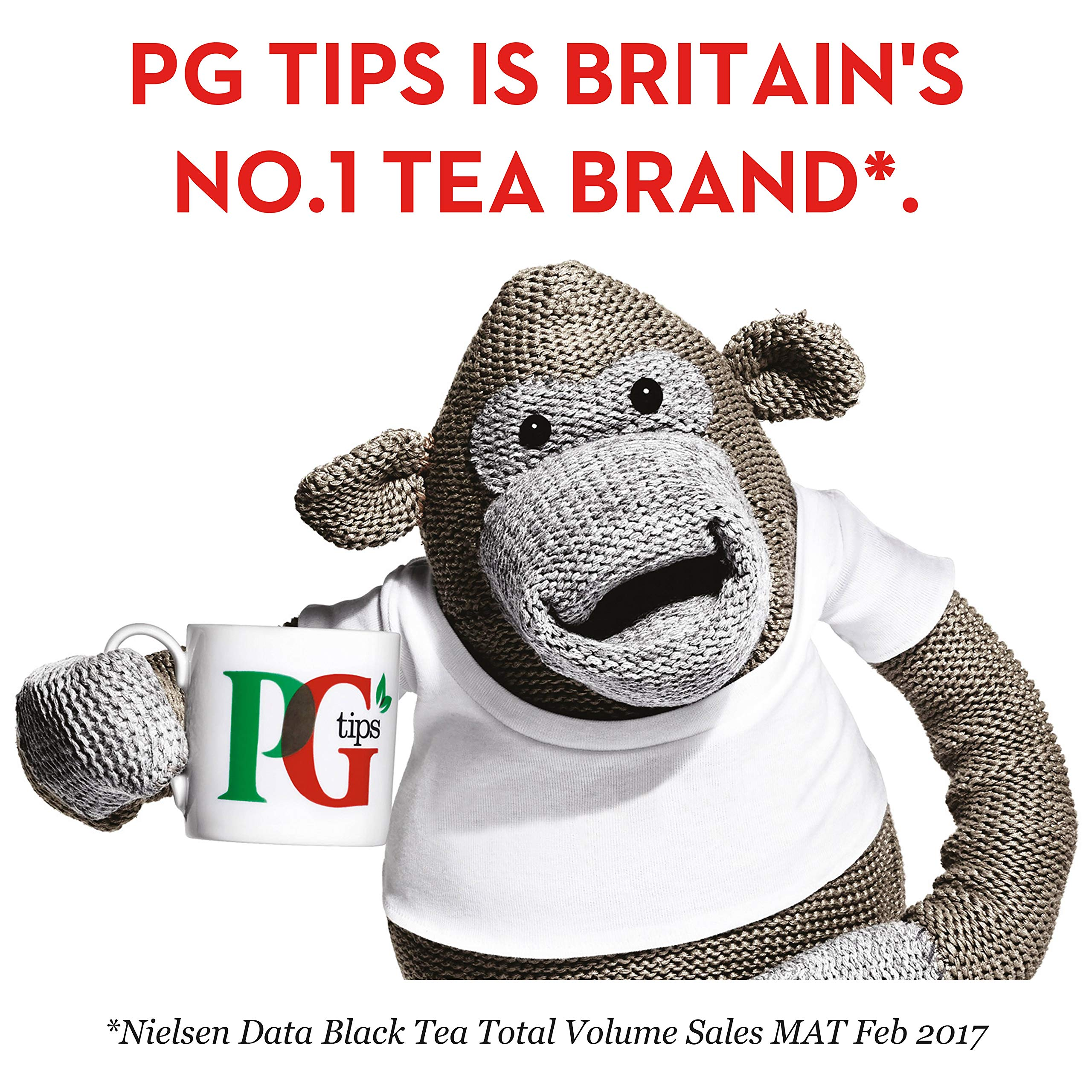 PG Tips One Cup Pyramid Tea Bags (Pack of 1, Total 1100 Tea Bags) by PG Tips (Image #4)
