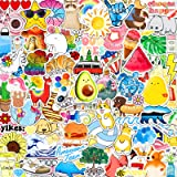 ANERZA 100 PCS Stickers Packs, Cute Vsco Aesthetic Vinyl Stickers for Hydroflask Water Bottles Laptop Computer Skateboard, Wa