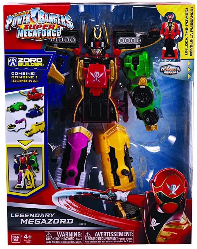 Bandai Power Rangers - Super Megaforce - Legendary Megazord ...