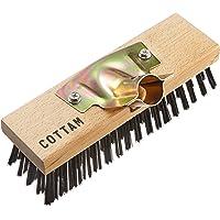 Cottam IWI00055 Steel Wire Broom Head, Bois