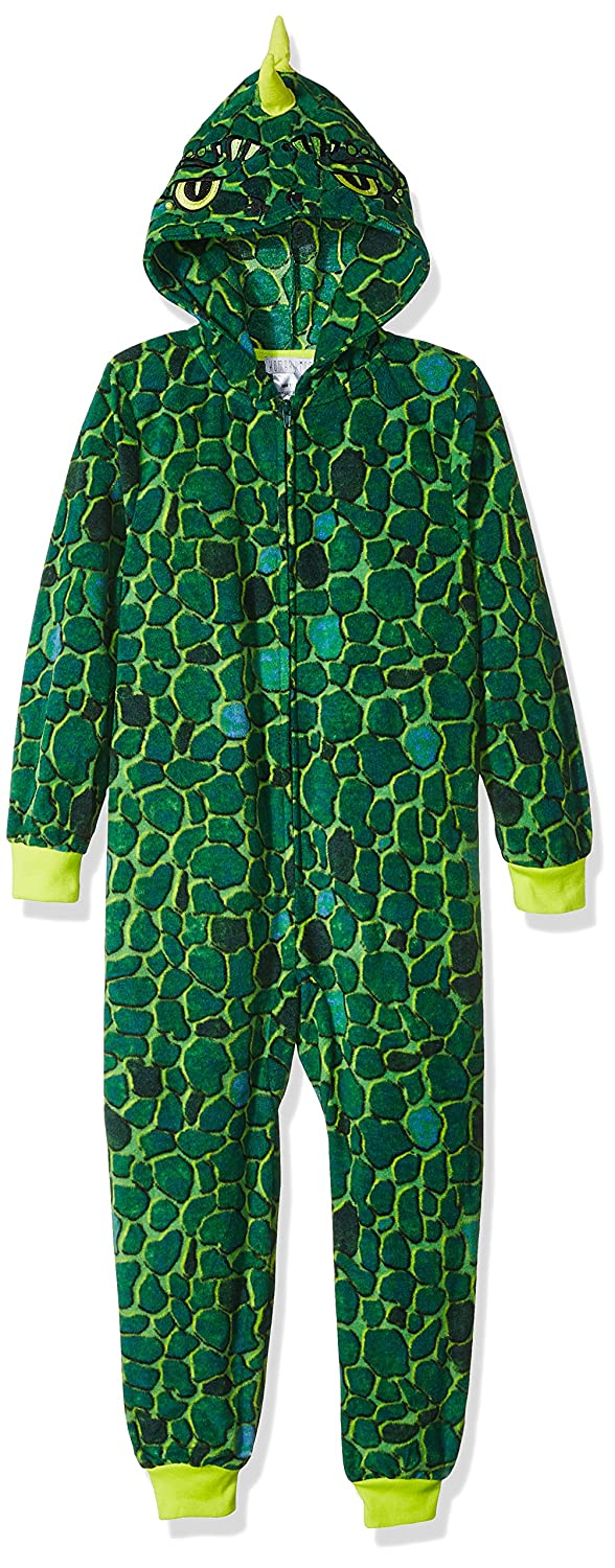 Komar Kids Boys' Big Dinosaur Hooded Blanket Sleeper K172204