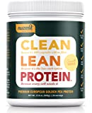 Nuzest Clean Lean Protein - Premium Pea Protein Powder, 100% Plant-based, Vegan, Daily Free, Gluten Free, GMO Free, Naturally Sweetened, Smooth Vanilla, 20 servings, 1.1 lb