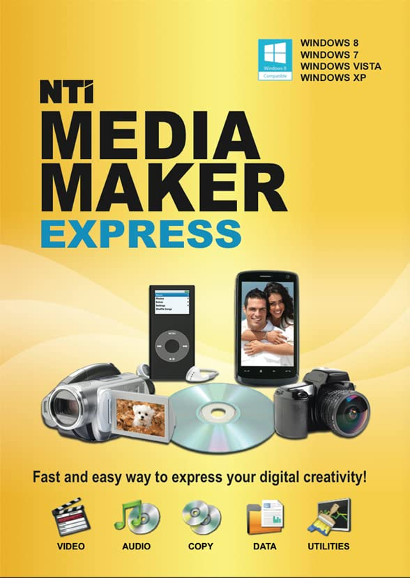Amazon. Com: nti media maker express [download]: software.