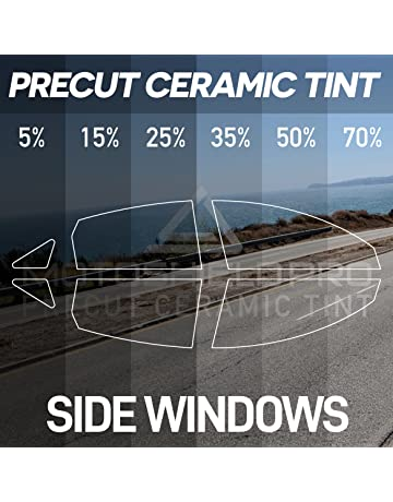 MotoShield Pro PreCut Ceramic Tint Film for All Side Windows - Any Shade [Sedan/