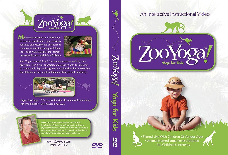 Amazon.com: Yoga for Kids Zoo Yoga: Mike Masters Paduano ...