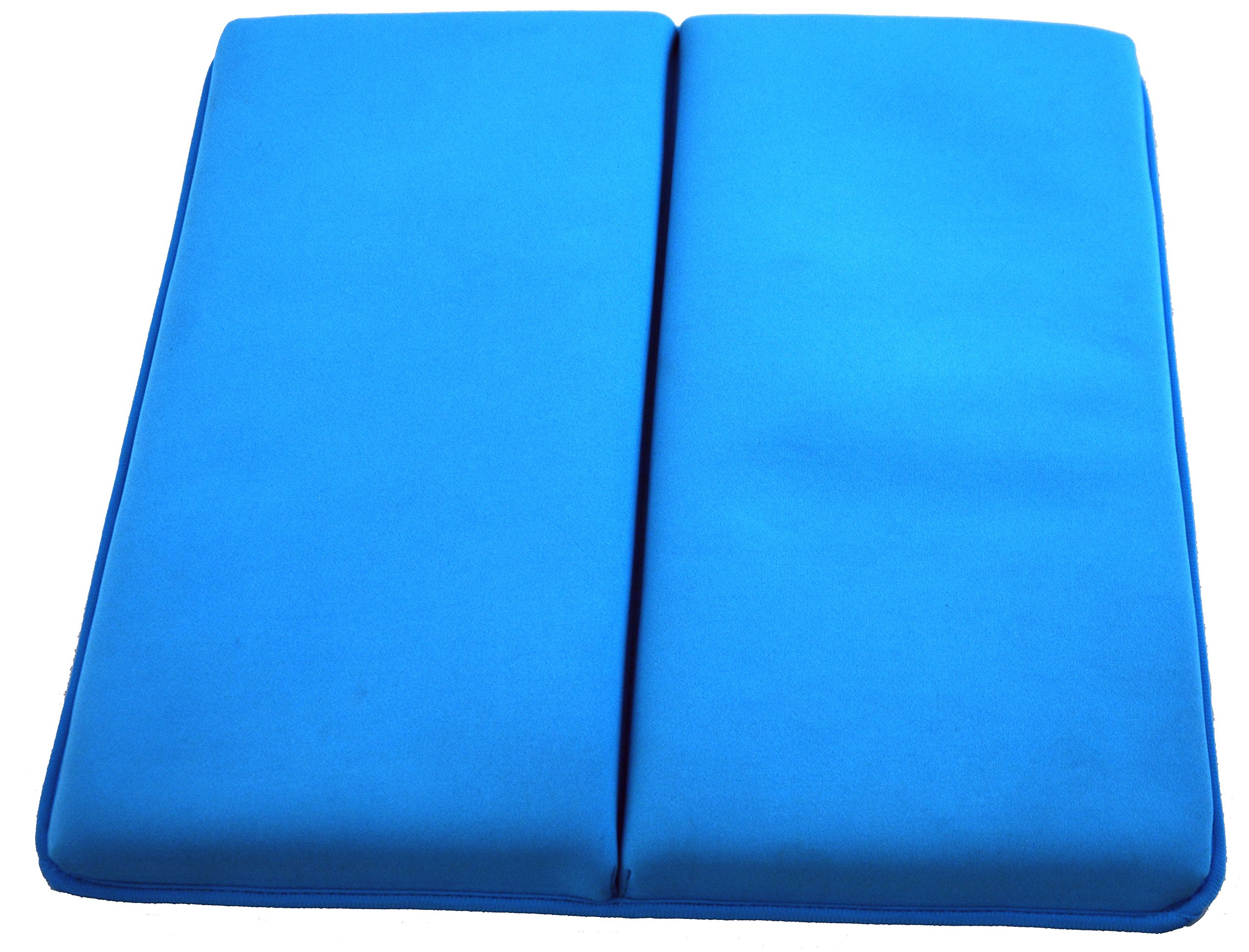 Life Upgrade Bath Kneeler in Blue - Padded Knee and Elbow Baby Bath Tub Cushion Mat with Pockets by Life Upgrade (Image #3)