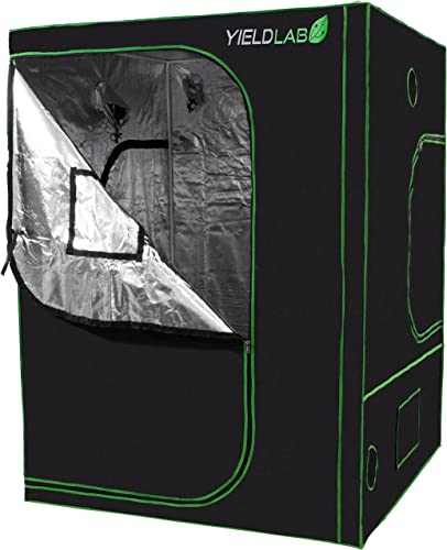 VIPARSPECTRA 2-in-1 60 x48 x80 Mylar Hydroponic Grow Tent with Observation Window and Floor Tray for Indoor Plant Growing 5 x4 x6