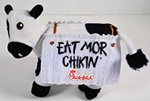 """Chick Fil A Cow 4"""" Eat Mor Chikin"""