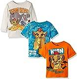 Disney Little Boys' Toddler Lion Guard 3 Pack T-Shirts