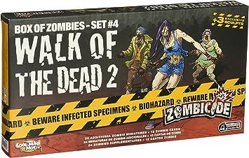 Zombicide Box of Zombies: Walk of the Dead 2 Set #4 - Juego de ...