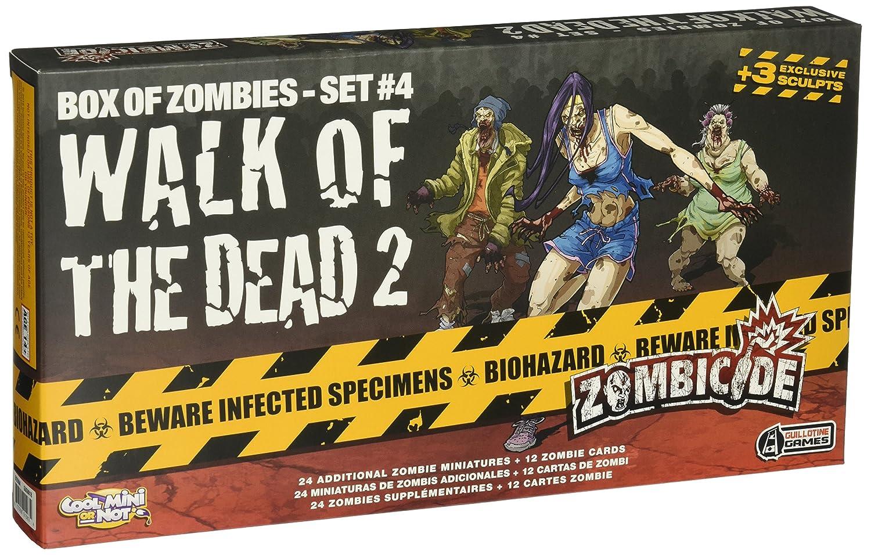 CMON Zombicide: Walk of The Dead 2 Board Game (4 Set)