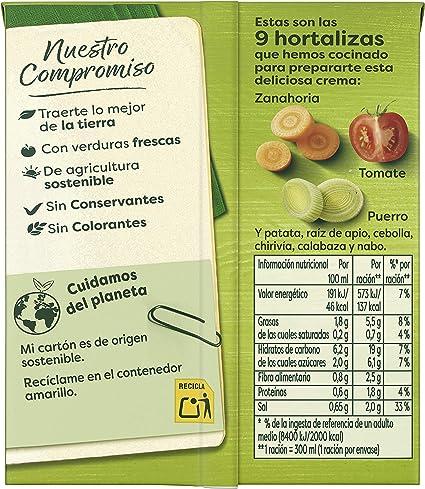 Knorr Crema con Verduras Mediterráneas, 300ml