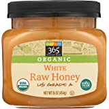 365 Everyday Value, Organic US Grade A White Honey, Raw, 16 oz (Packaging May Vary)