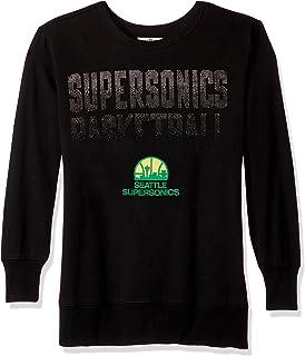 XX-Large Black GIII For Her NBA Seattle Supersonics Womens Warm Up Leggings
