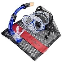Tauchset Taucherbrille und Schnorchel La Costa Pro Schnorchelset Aqua Lung inklusive Netzbeutel