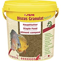 sera Discus Granulaat Nature 10 l (4,2 kg) - Hoofdvoer voor alle discusvissen, voer voor discus
