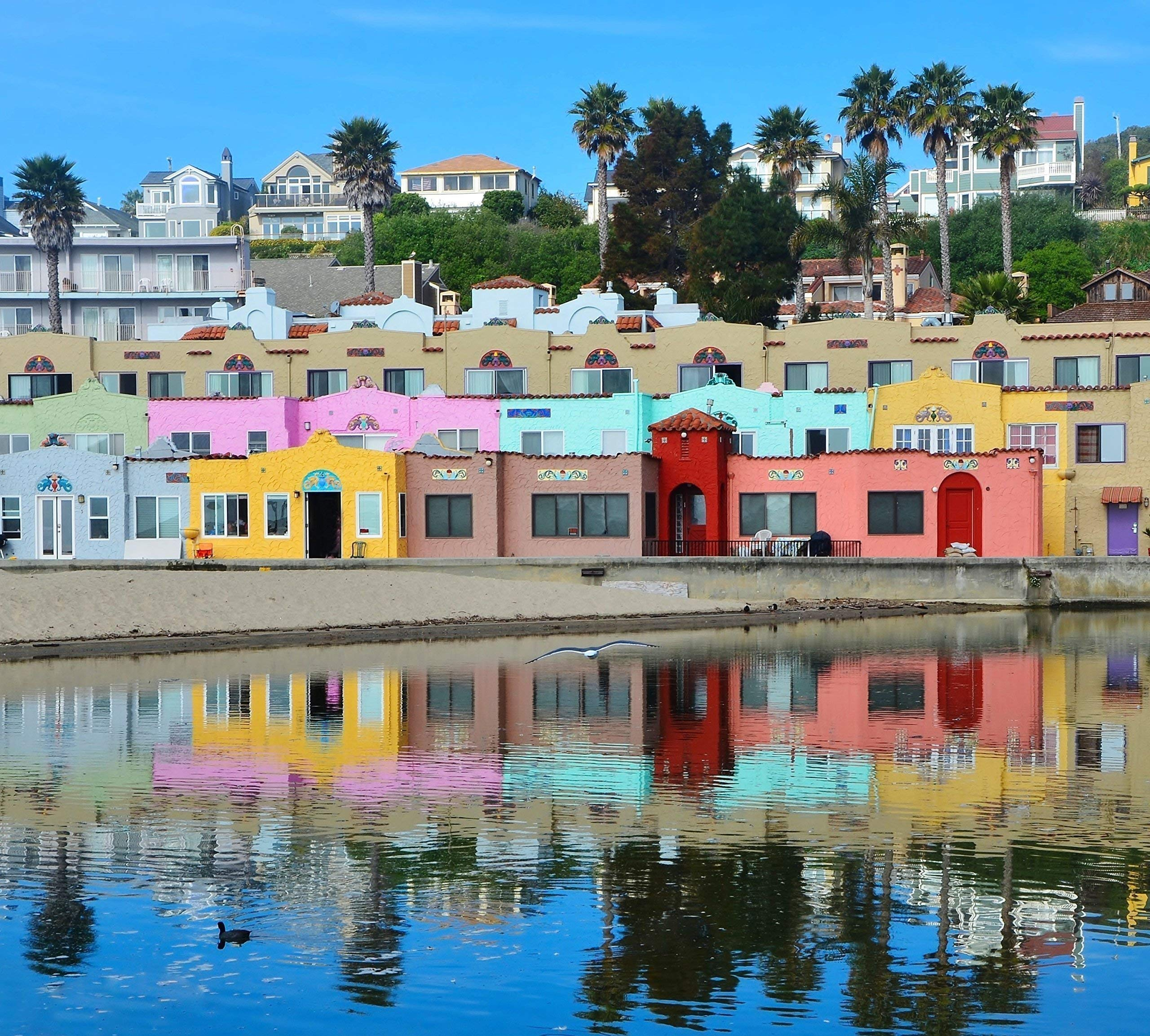 The Colorful Capitola Venetian Hotel
