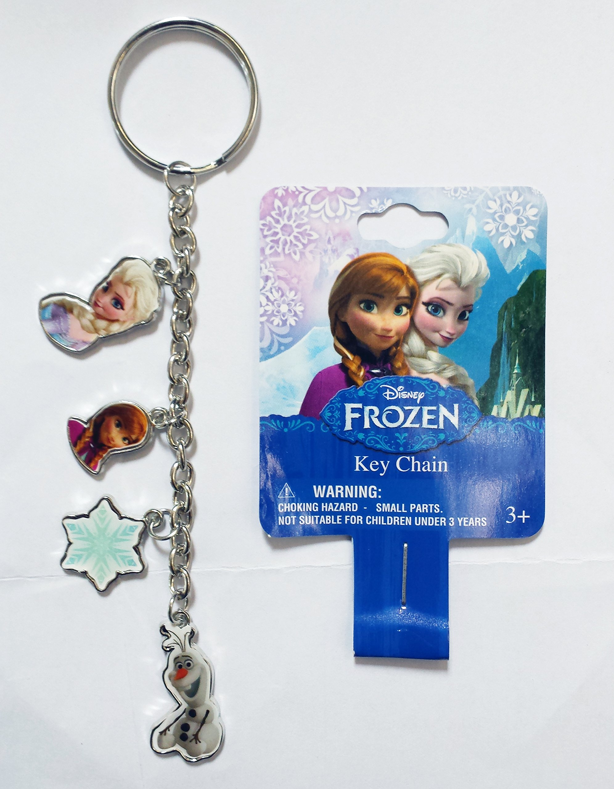 Disney Frozen Elsa Anna Olaf Keychain Dangler product image