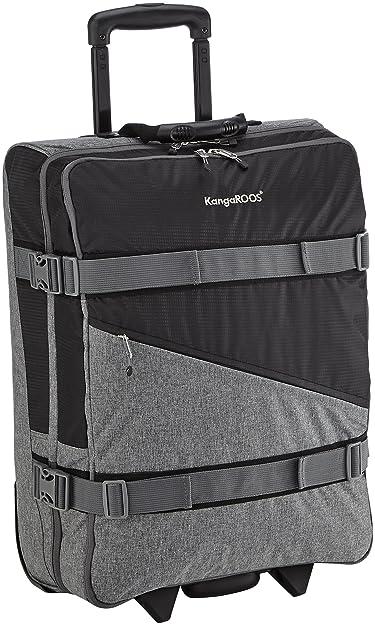 KangaROOS HEALY Trolley S, sacs bandoulière mixte adulteNoirNoir (500), 40x55x20 cm (B x H x T) EU