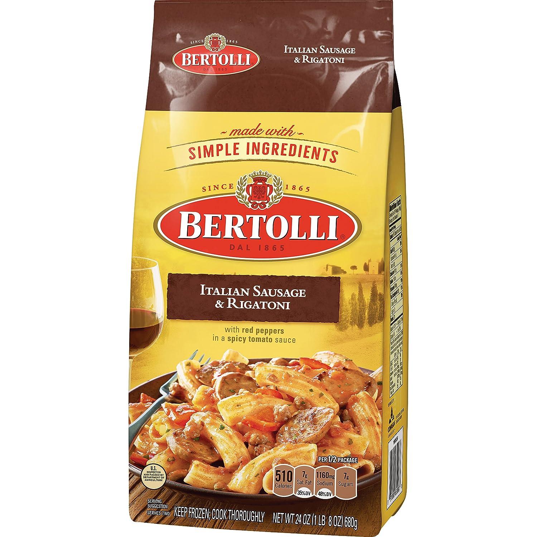 Bertolli frozen meals for two