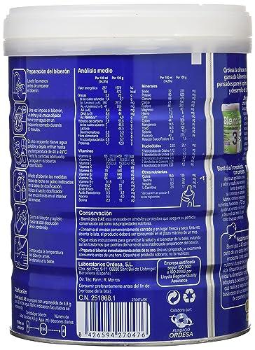 Blemil Plus 2 Leche Efecto Anti-Estreñimiento - 800 gr: Amazon.es: Alimentación y bebidas