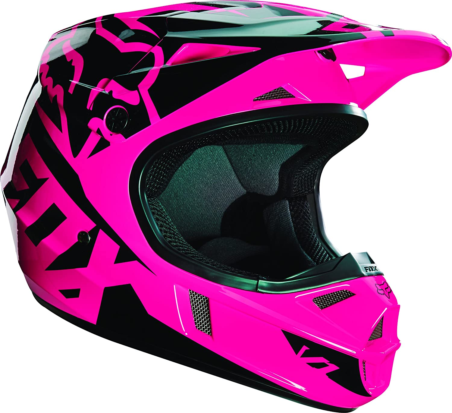Fox Racing Race Youth V1 Motocross Motorcycle Helmet