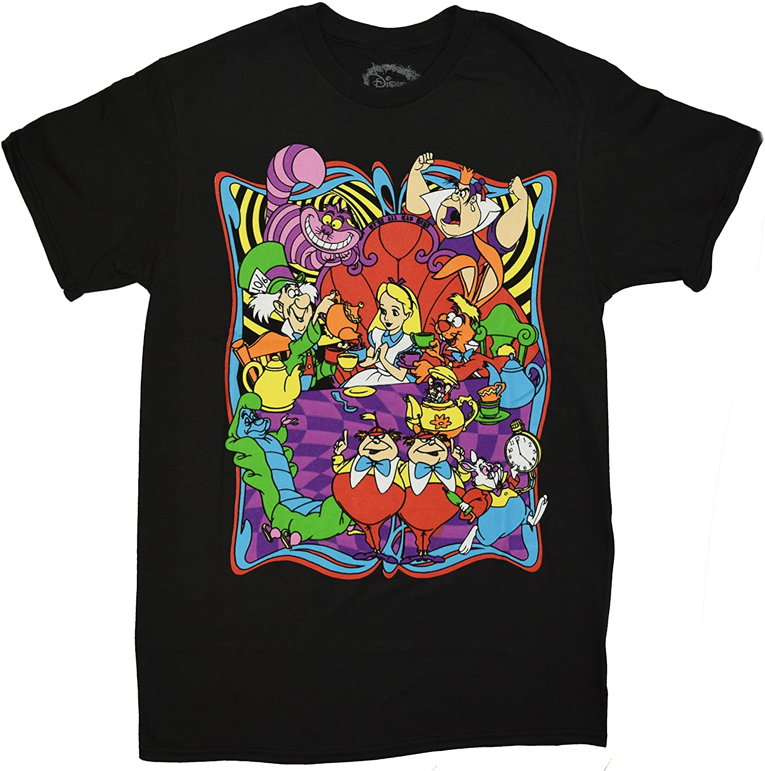 Disney Alice in Wonderland Mostly Mad Tea Party T-Shirt