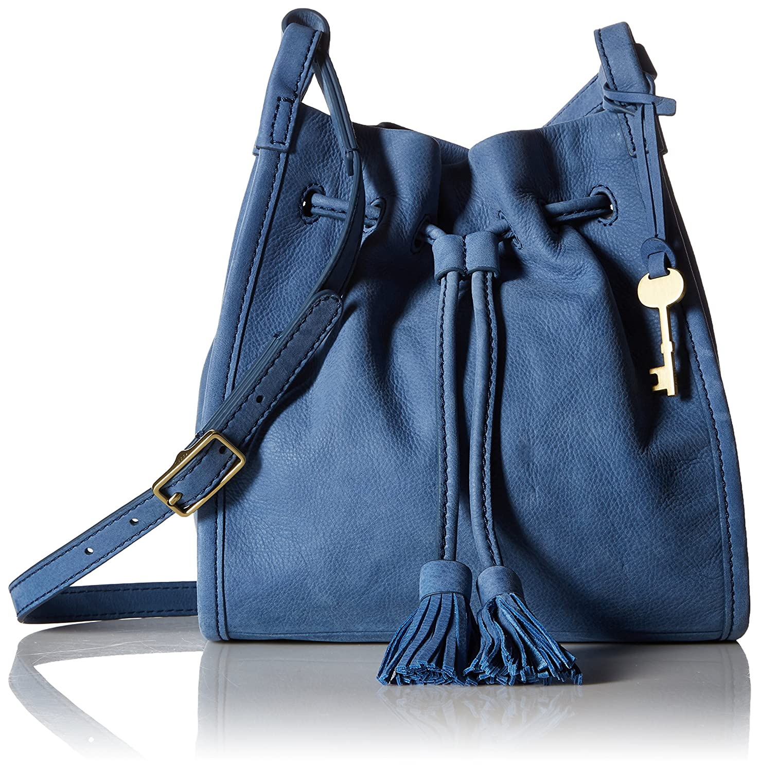 Fossil Drawstring Handbags Tessa Satchel Blue Claire Small Bag Cornflower 1475x1500