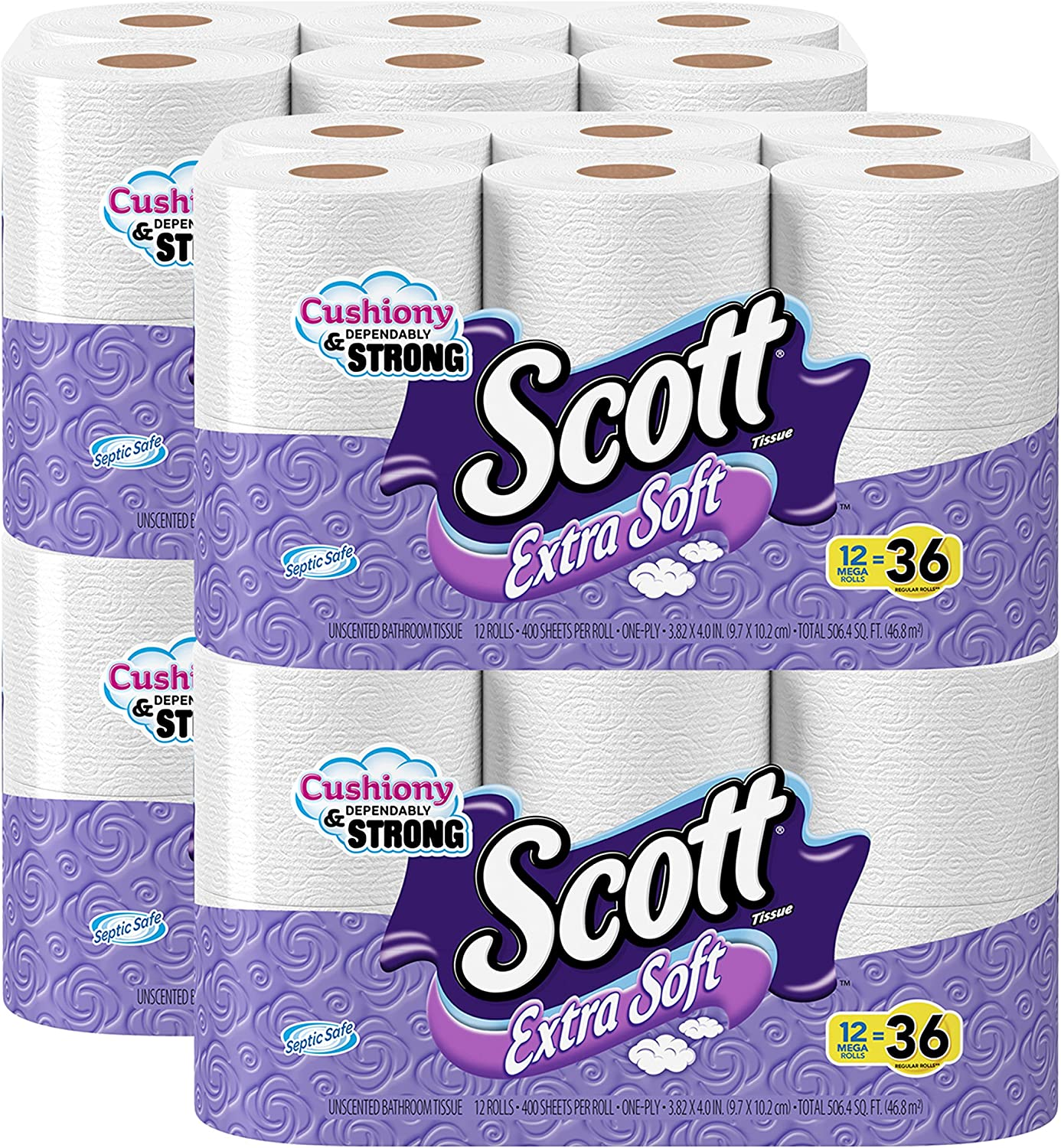 Scott Extra Soft Toilet Paper is an inexpensive toilet paper that is septic safe and soft at the same time
