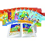 LeapFrog LeapReader System Learn to Read 10 Book Bundle