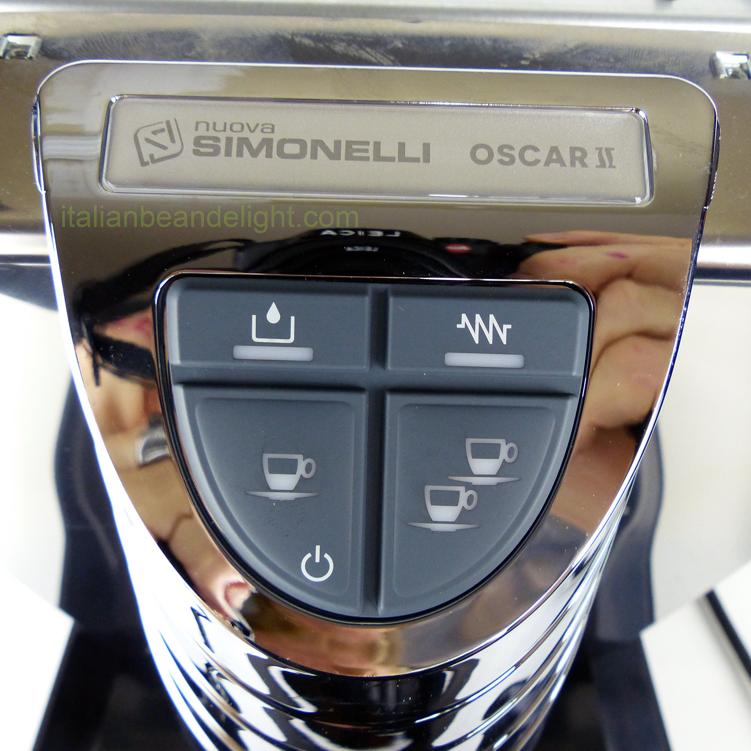 Nuova Simonelli Oscar Direct Connect Version Black Espresso Machine Mop140D204