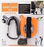 Toddler Walking Handle Set, Kidsmile Anti-lost Toddlers Walking Handle Wrist Safety Harness Straps with Large Stroller Hooks / Toddler Tether / Child Safety Cord (Orange)
