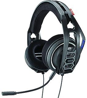 Plantronics 941609 - Auricular estéreo biaural para PS4 400HS, Color Negro