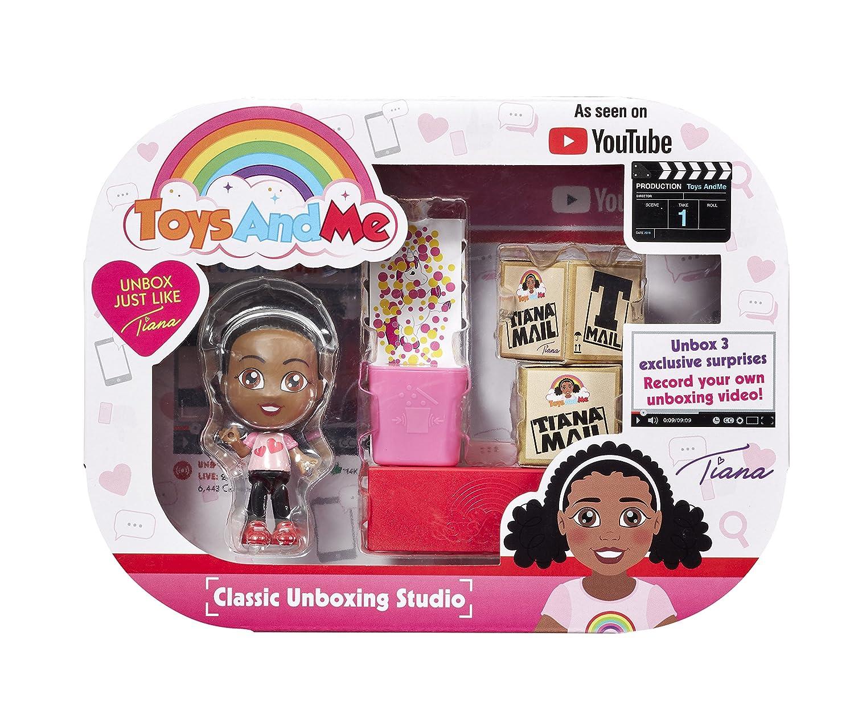 d3ef256fd30 Toys AndMe 12203 Classic Tiana Unboxing Studio, Multi-Colour: Amazon.co.uk:  Toys & Games