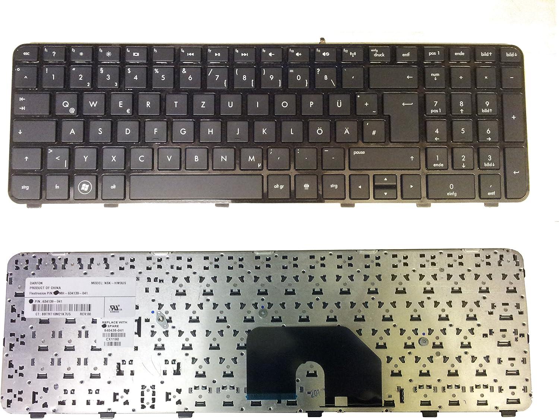 Teclado para HP Pavilion DV6 – 6000EG Alemán nuevo negro con ...