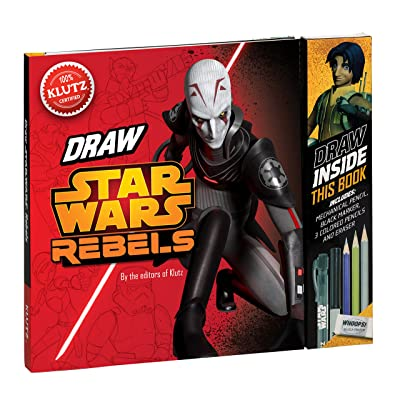 Klutz Star Wars Rebels: Be a Trooper! Draw Right Inside This Book Craft Kit: The Editors of Klutz: Toys & Games